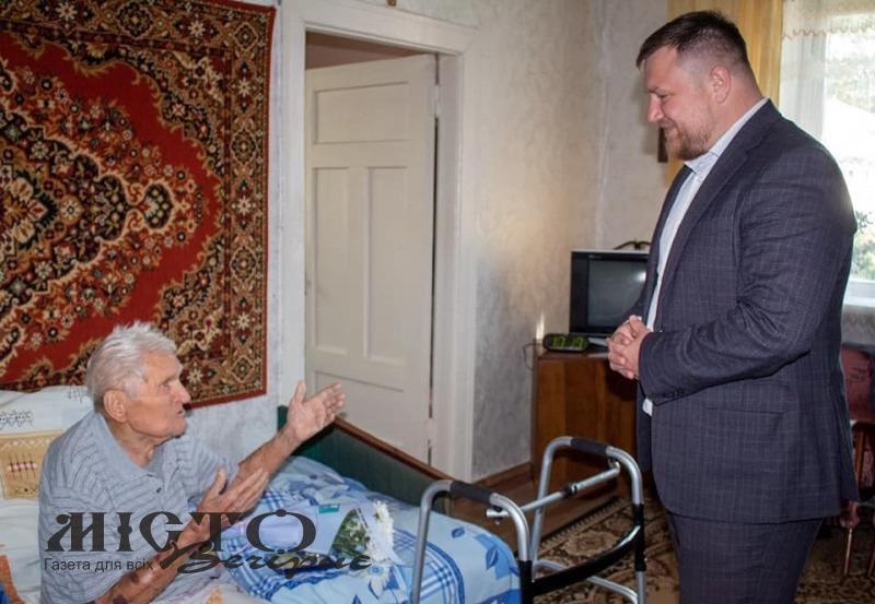 У Нововолинську ветерана нагородили орденом