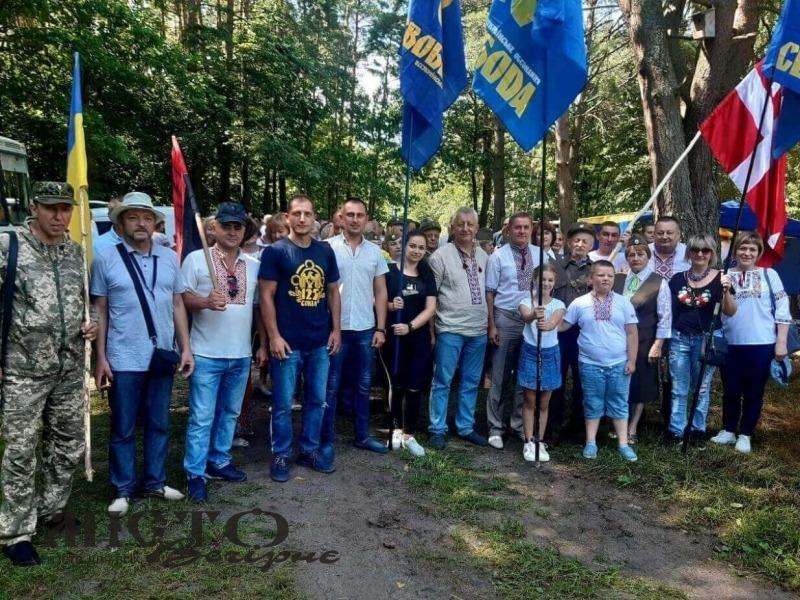 В історичному урочищі відбувся фестиваль повстанської пісні «Вовчак – Волинська Січ»