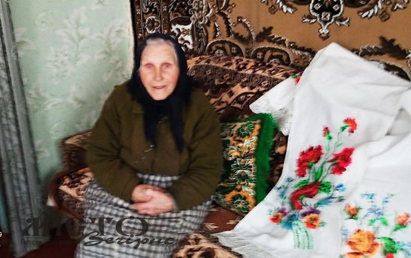 96-ту весну зустрічає Ганна Карпюк із Хмелівки