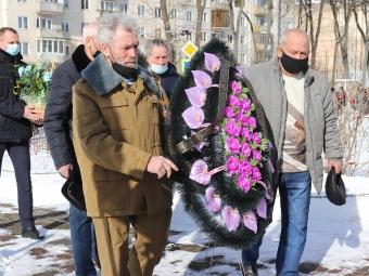 У Володимирі-Волинському вшанували пам'ять воїнів-афганців