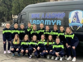 Володимир-Волинська футбольна команда «Ладомир» здобула чергову перемогу