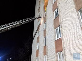 У гуртожитку педколеджу у Володимирі відбулася умовна пожежа