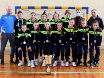 Володимир-волинська дівоча футбольна команда «Ладомир» стала переможцем Чемпіонату України з футзалу