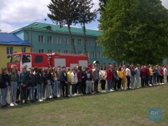 У Володимирі для учнів ліцею «Центр освіти» провели акцію «Запобігти. Врятувати. Допомогти»