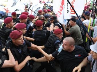 На Майдані сталася сутичка між ФОПами та поліцією