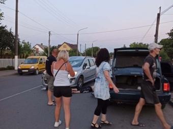 У Луцьку автомобіль на смерть збив велосипедиста