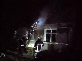 У Зимнівській громаді під час пожежі загинула 74-річна жінка