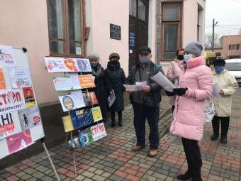 Володимирчани долучились до акції «16 днів проти насильства»