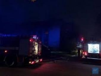 Друга за тиждень пожежа у приміщенні колишнього банку в Нововолинську