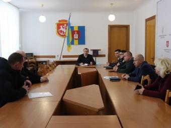 У міській раді Володимира обговорили підготовчі заходи щодо запобігання підтоплення будинків