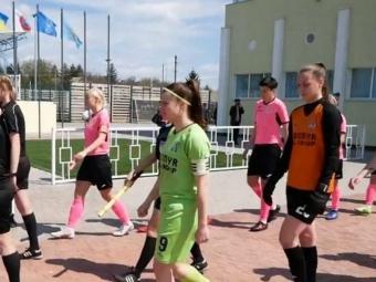 Володимирська жіноча футбольна команда «Ладомир» здобула чергову перемогу