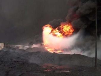 У Кувейті спалахнула пожежа на нафтовому родовищі