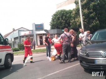 У Володимирі на «зебрі» дитина потрапила під колеса автомобіля