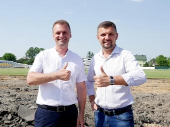 У Володимирі до кінця року з'являться нові бігові доріжки на стадіоні «Олімп»