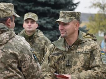 У Володимирі привітали військовослужбовців 14 бригади з Днем захисника та захисниць