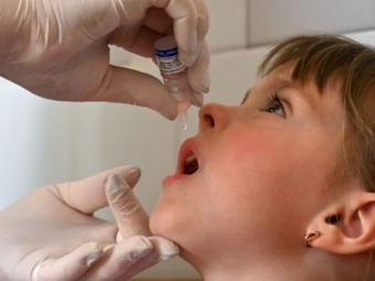 У Володимир-Волинському районі зафіксували найвищий рівень вакцинації дітей від поліомієліту