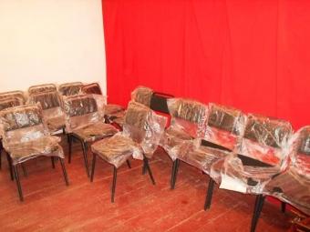 Для будинку культури села Вощатин придбали стільці