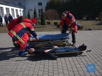 У Володимирі провели навчальну пожежну евакуацію студентів педагогічного коледжу