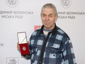 Мешканець Володимира став заслуженим донором України