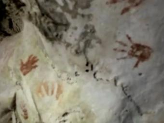 У печері Мексики знайшли відбитки рук дітей, яким 1200 років