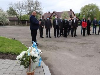 У Володимирі вшанували пам'ять жертв політичних репресій