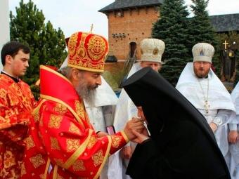 Митрополит Онуфрій планує відвідати Зимненський монастир