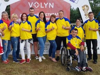 Володимирчани здобули перемогу в Обласному фестивалі фізичної культури і спорту