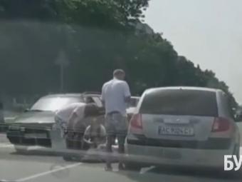 У Володимирі трапилася аварія на пішохідному переході