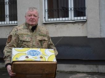 Волинські волонтери відправили бійцям 14-ї бригади подарунки