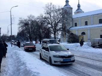 У центрі Володимира-Волинського трапилась аварія
