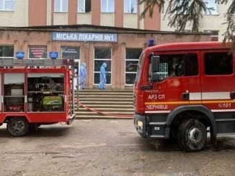 У Чернівцях стався вибух в лікарні, у якій лікують хворих на коронавірус