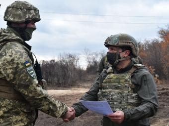 Президент відвідав підрозділи 14 бригади та вручив цінні подарунки
