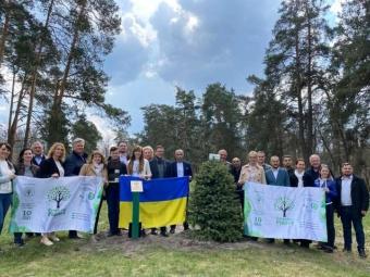 В Україні встановили рекорд з озеленення планети