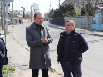 У Володимирі на виїзній нараді обговорили капітальний ремонт вулиці Павлова