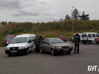 У Володимирі на автостанції трапилась аварія