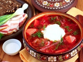 Український борщ втрапив до рейтингу найсмачніших супів світу