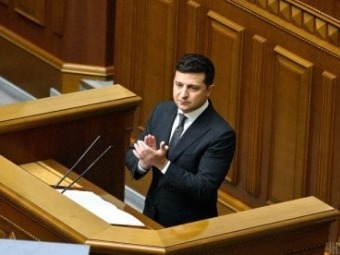 Зеленський вніс законопроект про Великий герб України