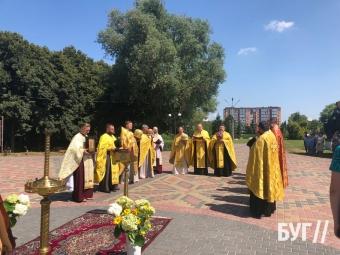 У Володимирі провели молебень Рівноапастольному князю Володимиру до 1033 річниці хрещення Русі