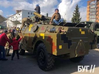 У Володимирі провели святкові заходи до Дня захисників та захисниць України