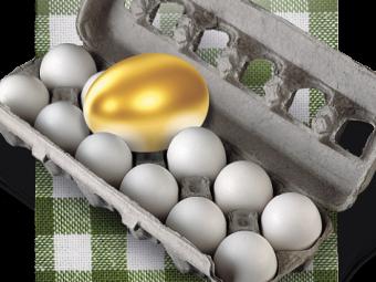 В Україні яйця подорожчали більше, ніж вдвічі
