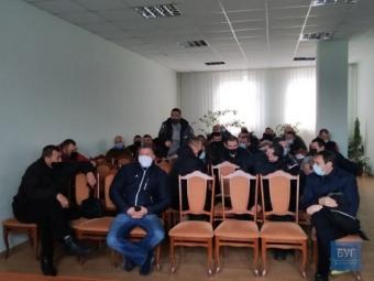 У Нововолинську протестують шахтарі