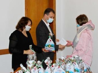 У Володимирі-Волинському привітали дітей з новорічно-різдвяними святами