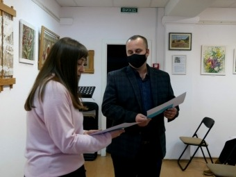 Нагородили учнів-учасників наукових читань про історію Володимира