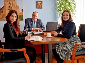 Представники Володимира-Волинського обговорили напрямки співпраці з директором обласного центру зайнятості
