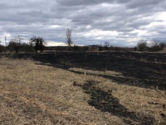 На Володимирщині через недопалок загорілася суха трава