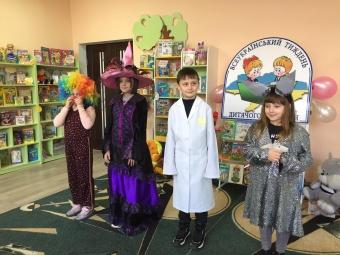 У дитячій бібліотеці Володимира влаштували день розваг для наймолодших