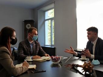 Володимир-Волинський відвідав представник ізраїльської компанії