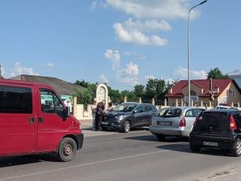 На світлофорі у Володимирі трапилася аварія