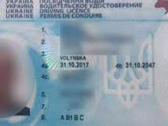 На Волині спіймали водія-порушника з купленим в інтернеті посвідченням