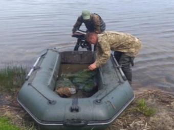На волинських водоймах вилучили браконьєрські сітки